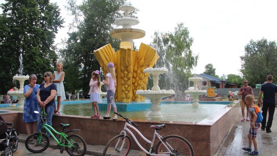 В Новоусманском районе после ремонта открыли сквер