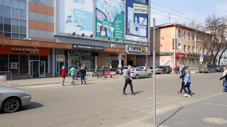 Воронежские активисты попросили помощи в исследовании пешеходных потоков