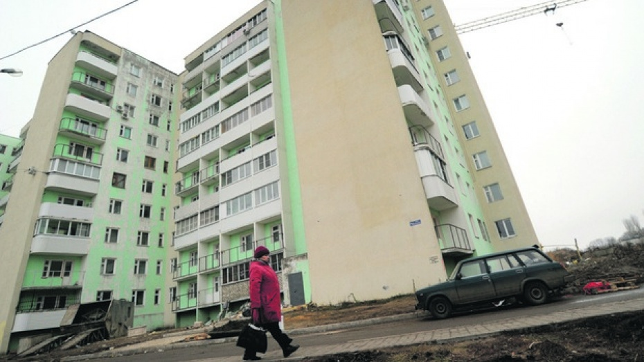 Воронежские строители в прошлом году сдали более миллиона квадратных метров жилья
