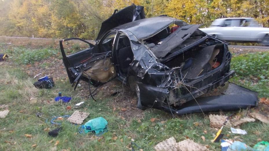 Авария вВоронежской области унесла жизнь 4-летнего ребёнка