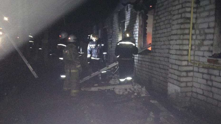 Из-за непотушенной сигареты при пожаре в Воронежской области погиб пенсионер