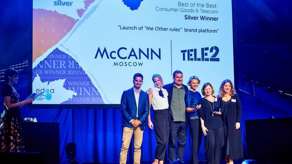 Tele2 первой в России получила сразу две европейские награды Effie