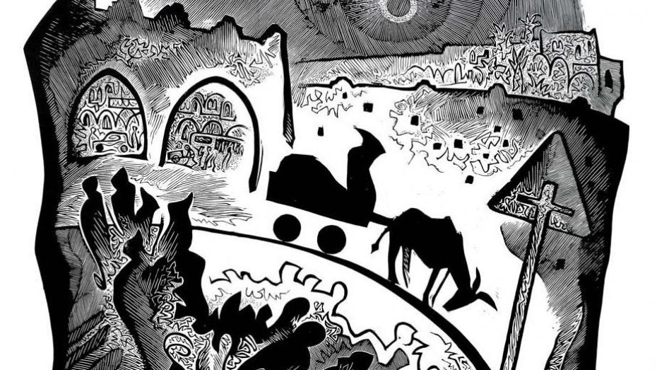 Молодой воронежский художник выставит черно-белые линогравюры
