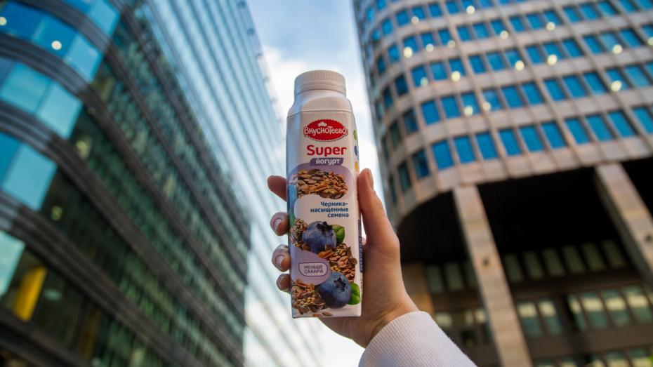 Воронежская марка «Вкуснотеево» запустила линейку Super-йогуртов