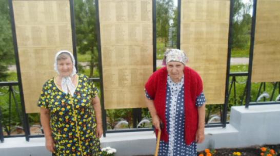 Имя  фронтовика из Панино увековечили на памятной плите в Тверской области