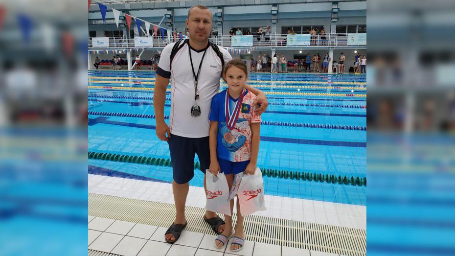 Верхнехавская спортсменка взяла 2 «серебра» на открытом первенстве Волгограда по плаванию