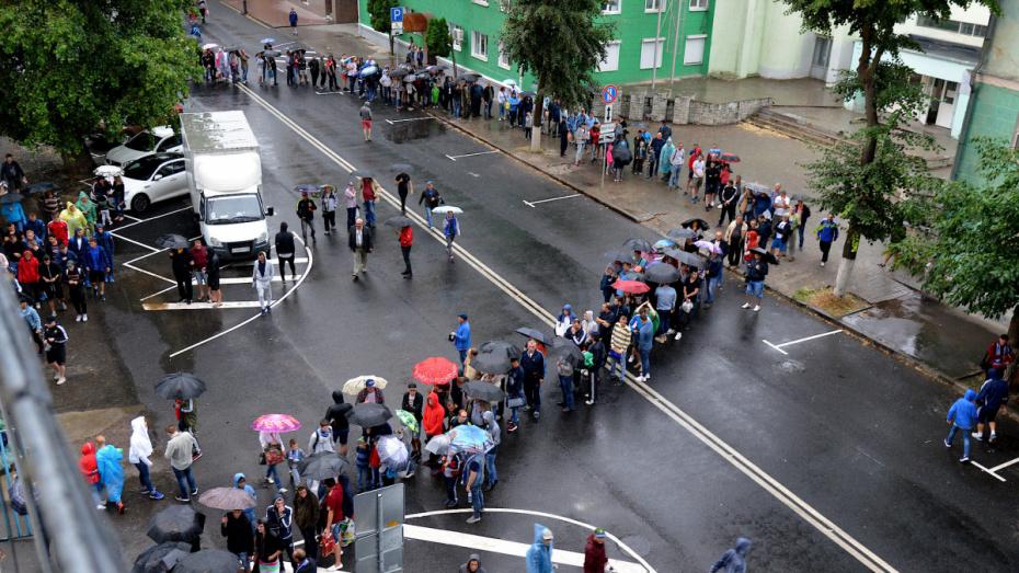 В дни игр «Факела» в Воронеже на 13 часов будут перекрывать улицу Студенческую