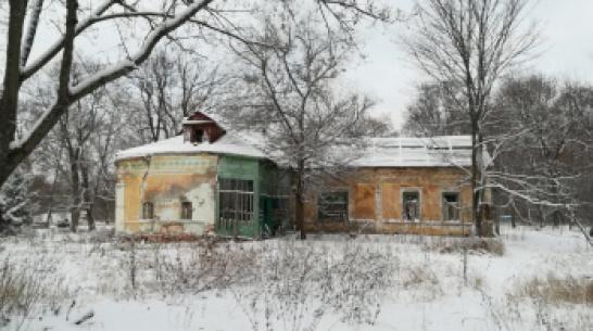 В Воронежской области разрушили еще одну старинную усадьбу