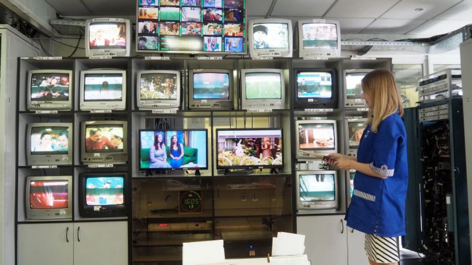 В Воронежской области 97,8% домохозяйств получили возможность обеспечения цифровым вещанием