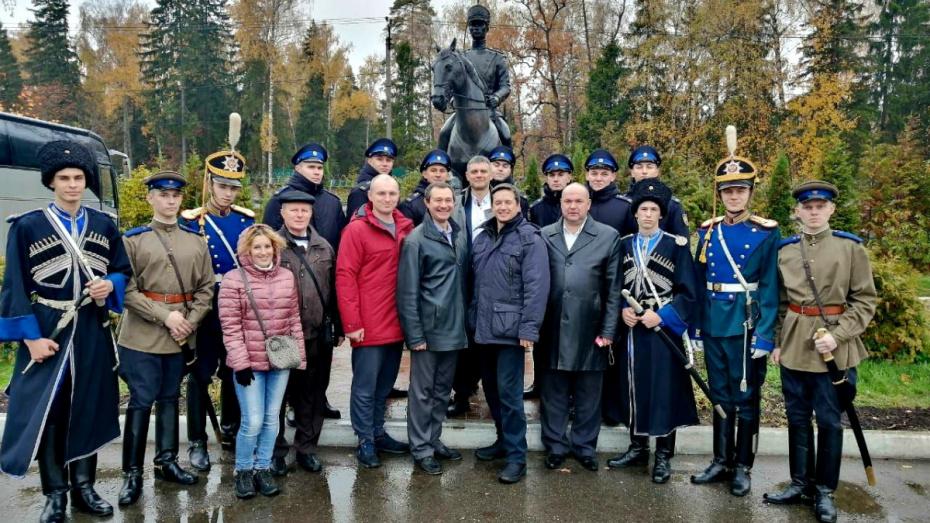 В Президентском полку отметили День Воронежской области