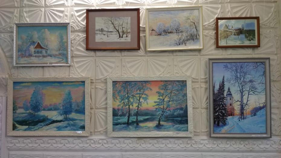 Павловчан пригласили на выставку картин «Зимняя палитра»