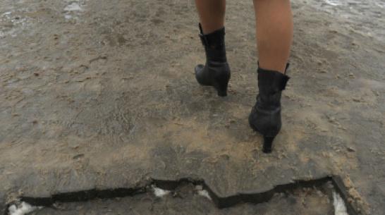 В 2019 году на строительство и ремонт тротуаров в Воронеже направят 59 млн рублей