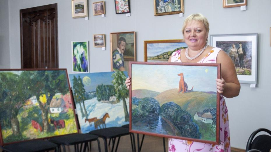 Лискинскому музею передали в дар 3 картины российского художника Василия Шевченко