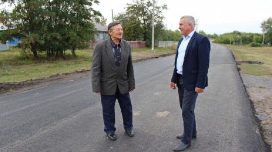 В терновском селе Козловка уличные дороги отремонтировали за 13,5 млн рублей