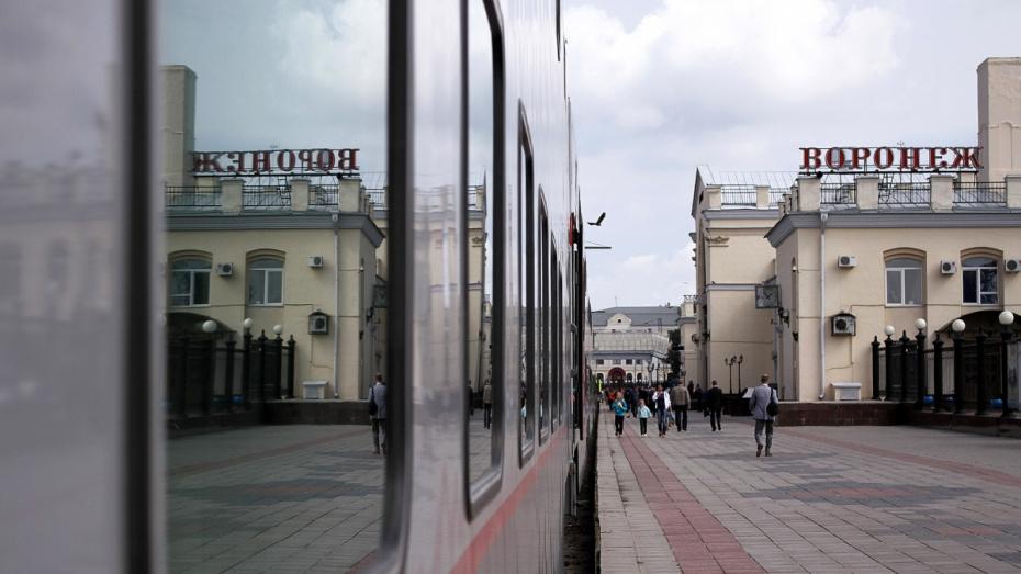 Из-за аварии в Липецкой области 7 поездов прибудут в Воронеж с опозданием