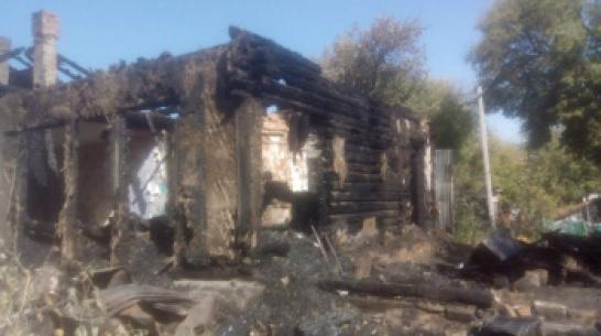 При пожаре в Воронежской области погиб мужчина