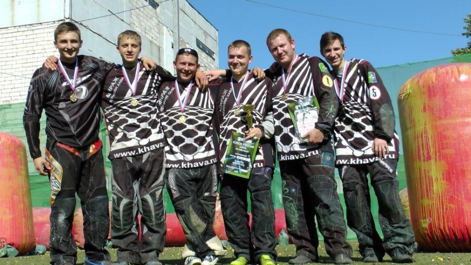 Верхнехавские пейнтболисты завоевали победу на Кубке России