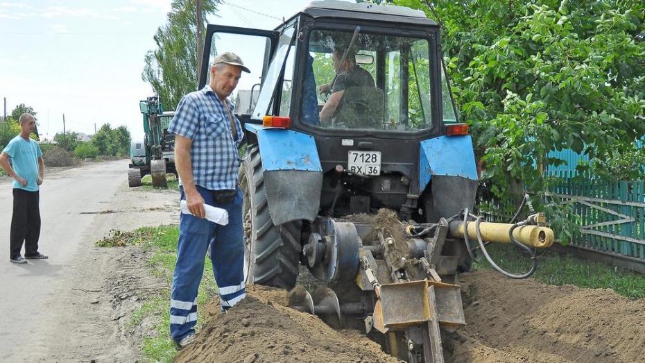 В Бутурлиновке проложат 30 км водопровода