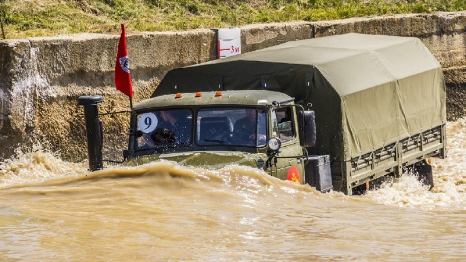 Международный конкурс военных автомобилистов открылся в Воронежской области