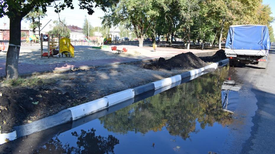 Борисоглебские власти потребуют от подрядчика переделать дорогу в центре города