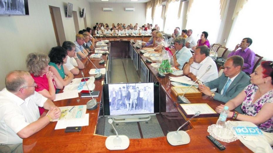 В Таловой отметили 85-летие районной газеты «Заря»