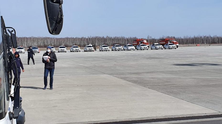 В Воронеже приземлился самолет с россиянами из Таиланда