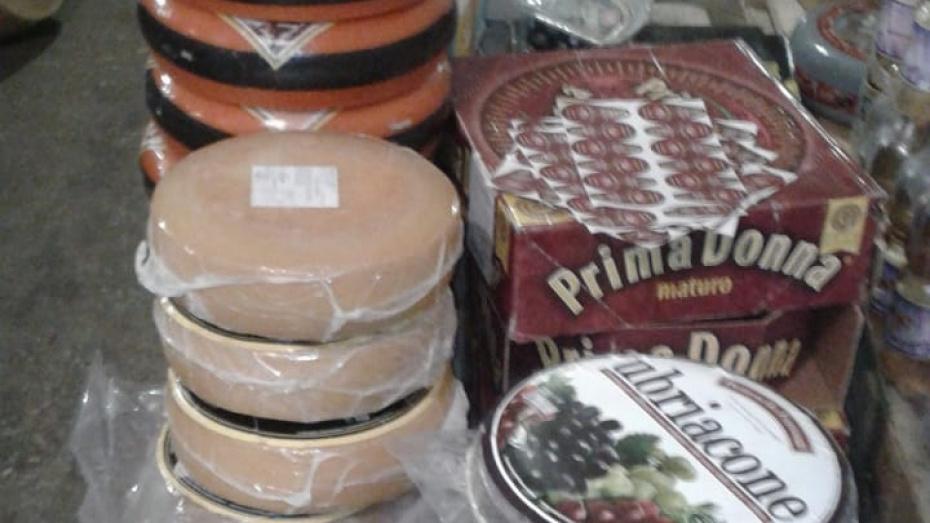 На полигоне в Воронеже уничтожили более 300 кг санкционных сыров