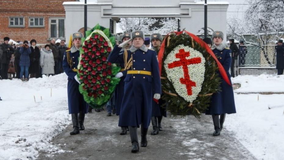 В Воронеже открыли первый памятник героям Отечественной войны 1812 года