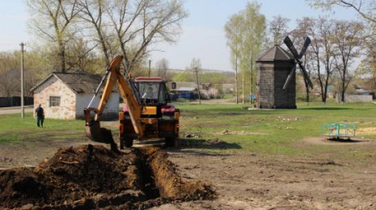 В подгоренском селе Сергеевка благоустроят парк