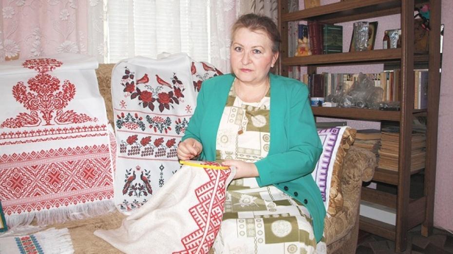 Жительница Калачеевского района возрождает забытые традиции рукоделия