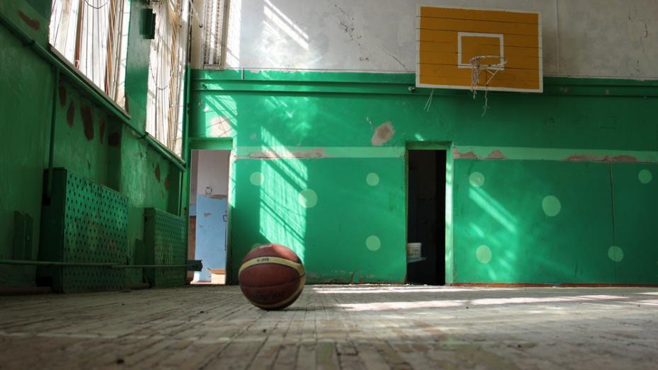 В подгоренском поселке Опыт в школе сделают капремонт спортзала