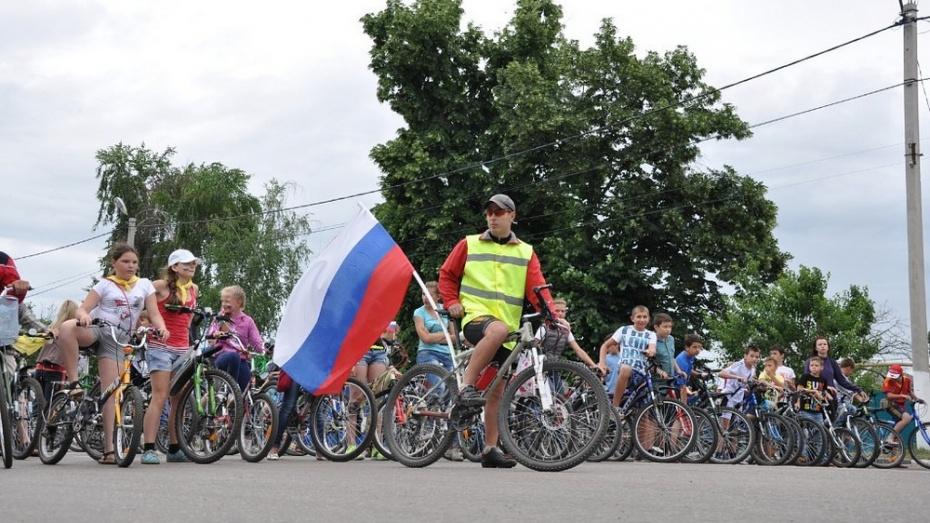 Павловчане отметят День России на велосипедах