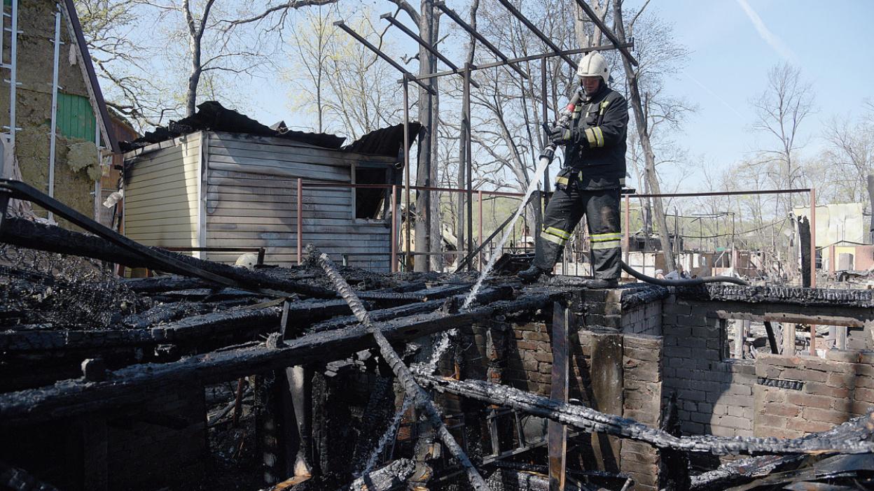 Адское пламя. Как дачный поселок под Воронежем пережил самый большой пожар в своей истории