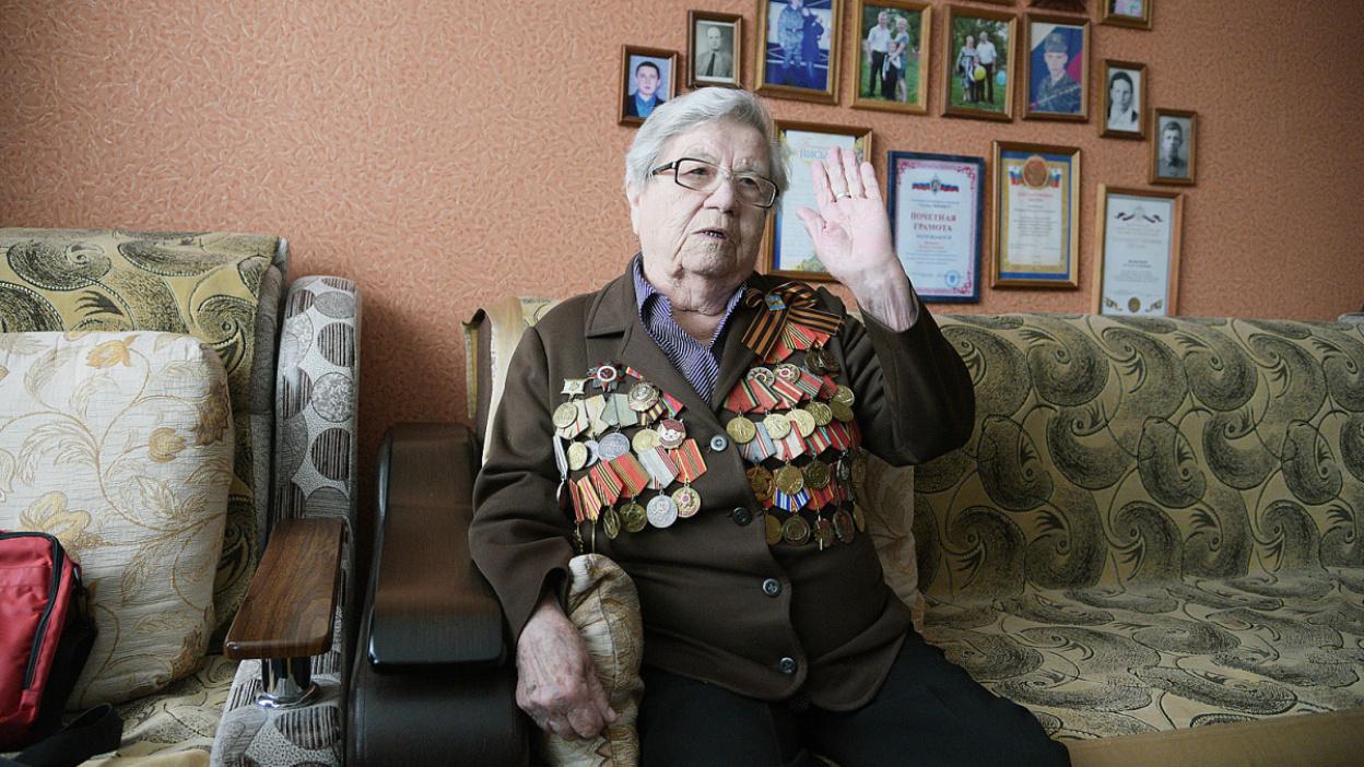 «Дочка, собирайся!» Как жительница Воронежской области сражалась на войне вместе с отцом