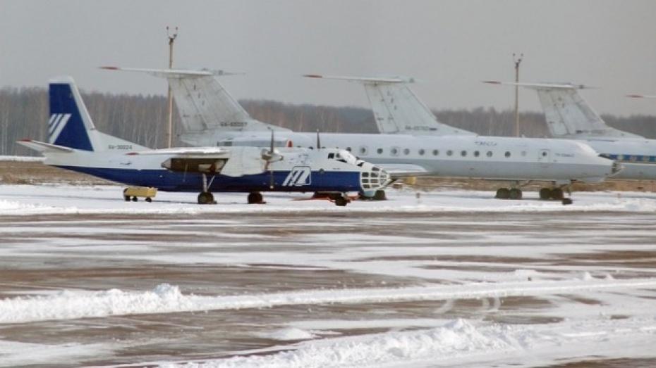 Аэропорт Воронежа не может принять самолет из Москвы