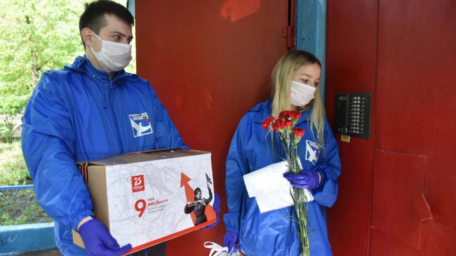 Воронежские волонтеры акции «Мы вместе» раздали 28 тыс наборов продуктов