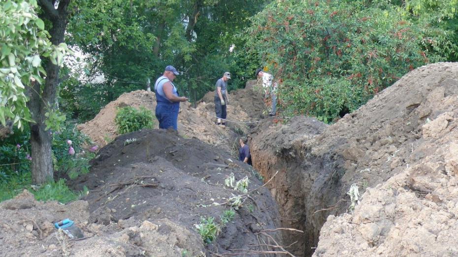 В Грибановском районе отремонтируют 700 м водопровода