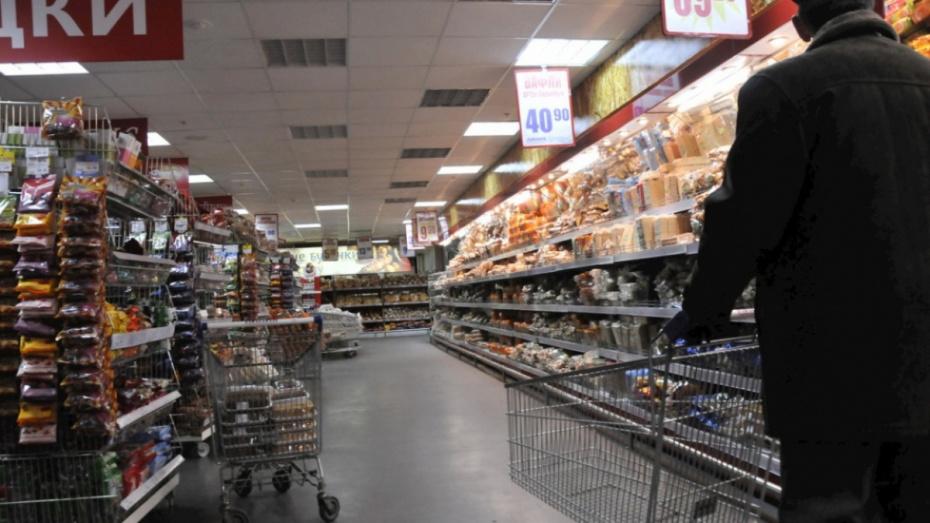 В Воронежской области рост оборота розничной торговли превысил средний по РФ