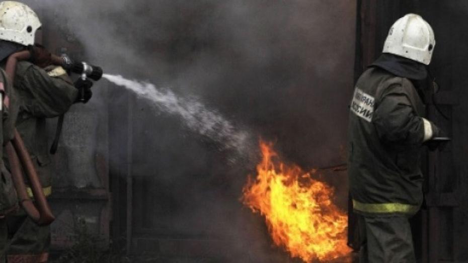 В Семилукском районе при пожаре в частном доме погиб 56-летний мужчина