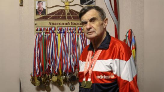 Аннинский ветеран-легкоатлет стал дважды чемпионом в Беларуси
