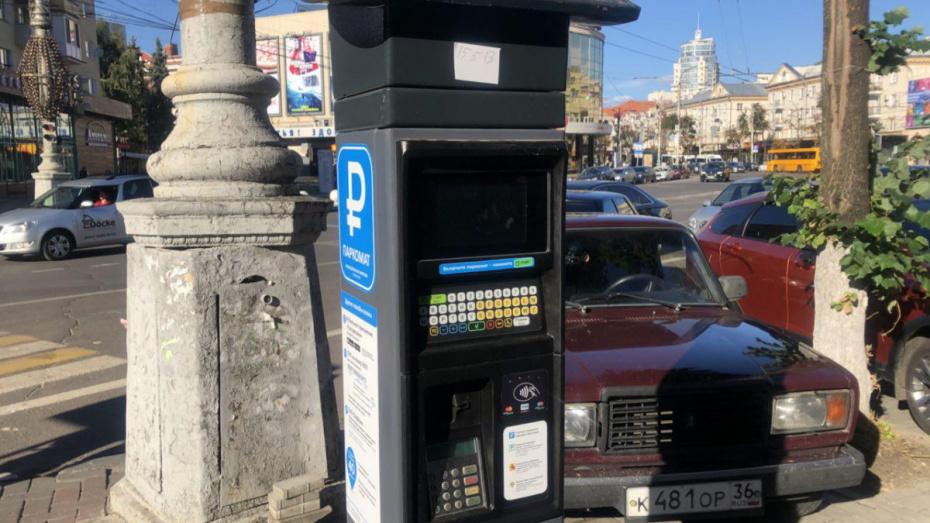 В Воронеже установили 14 первых паркоматов