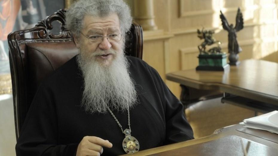 Митрополит Сергий призвал священников и мирян усыновлять сирот