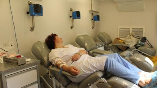 Хохольцы смогут сдать кровь 8 сентября