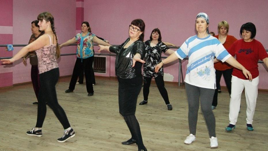 В Поворино открылась первая танцевальная группа для взрослых
