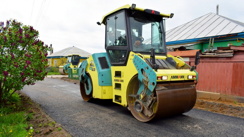 На благоустройство дорог в Грибановском районе выделили более 42 млн рублей