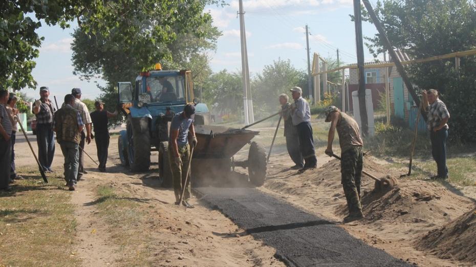 В Петропавловке заасфальтируют 336 метров тротуаров