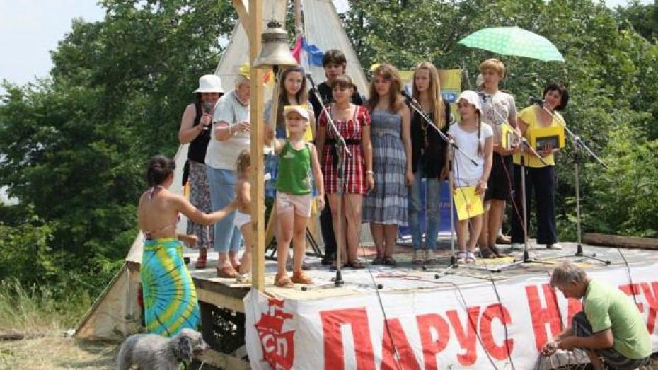Фестиваль «Парус надежды» пройдет у Воронежского водохранилища