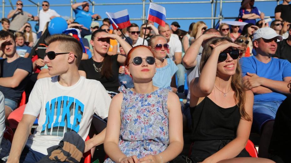 Воронежцев позвали на просмотр матча Россия – Испания на Адмиралтейской площади