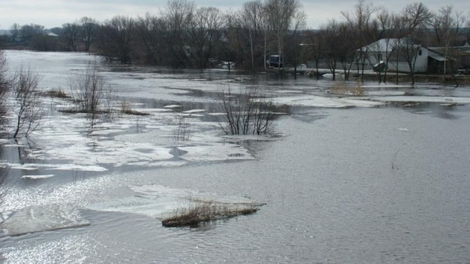 Сброс воды на Матырском водохранилище угрожает Рамонскому району