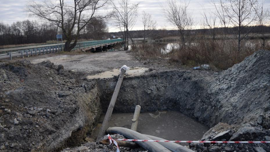 В Рамони на строительство водопровода к микрорайону ж/д станции потратили более 10 млн рублей